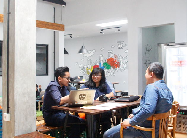Co-working Space Berkonsep Cafe
