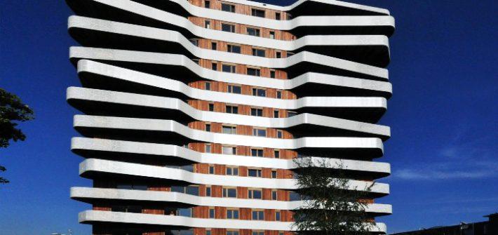 Tampilan Fasad Gedung