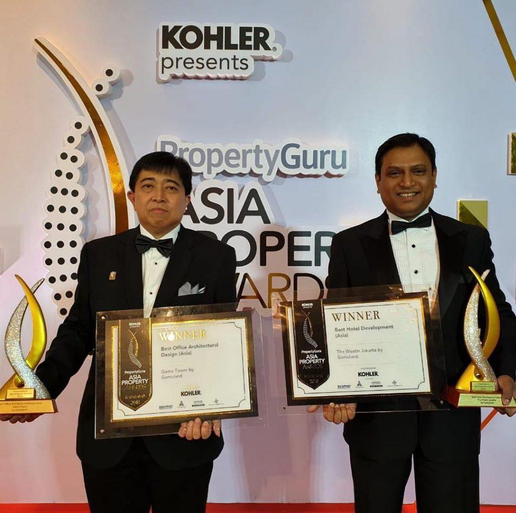 Gedung Terbaik Asia Property Award 2018