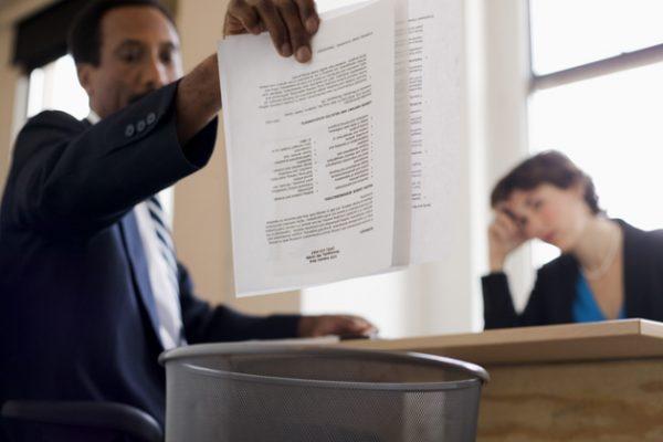 12 Alasan Lamaran Kerja Ditolak Terus Perusahaan Idaman