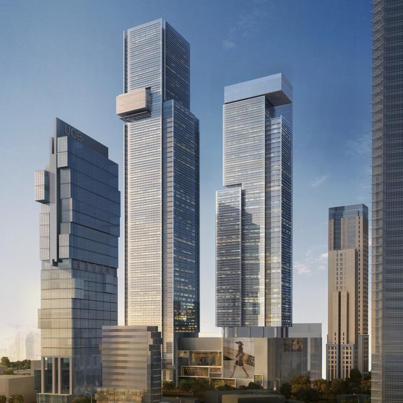 Desain Gedung: Selesai Tahun Depan, Thamrin Nine Tower 1 Bakal Jadi