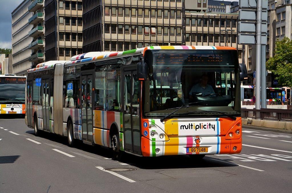 Transportasi Umum Gratis Luxembourg