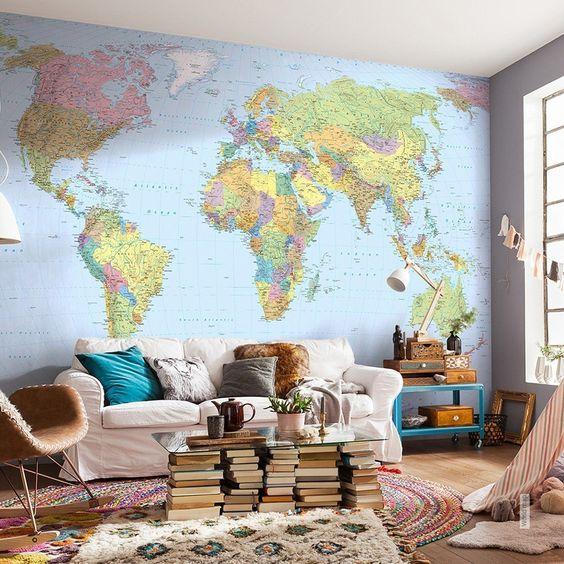 Berkreasi Menggunakan 11 Ide Desain Wallpaper Apartemen Menarik Ini