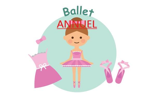 Ballet (filles), mer 15:10, cp/ce1/ce2