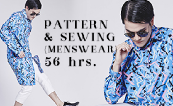 Certificate pattern & sewing menswear 56 hrs.