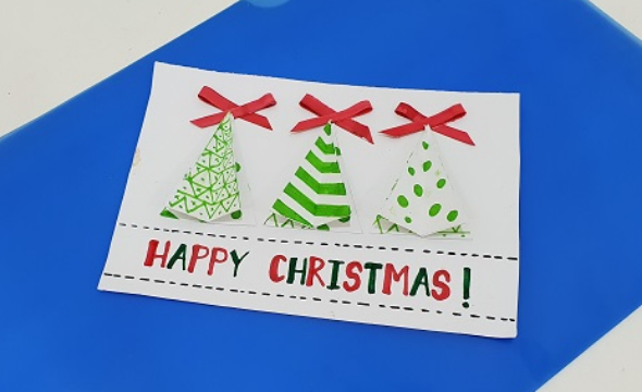 Christmas pop-up card