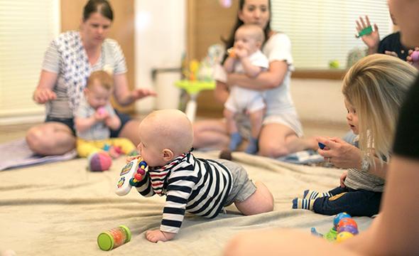 [saladaeng] parent & baby hang out (babies below 1y)