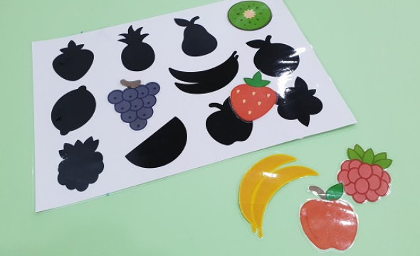 Fruits shadow matching