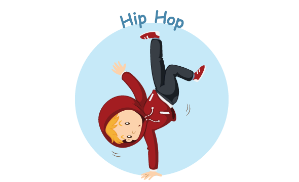 Hip hop, ven 14:10, ms / gs