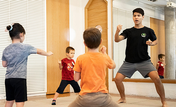 Martial arts for kids 3-5 yrs