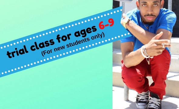 (sep 7) trial class for hip hop with la jon (ages6-9)