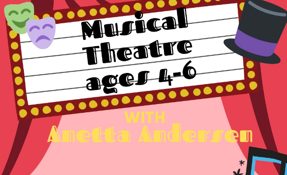 Musical theatre with anetta ages 4-6 at gm height
