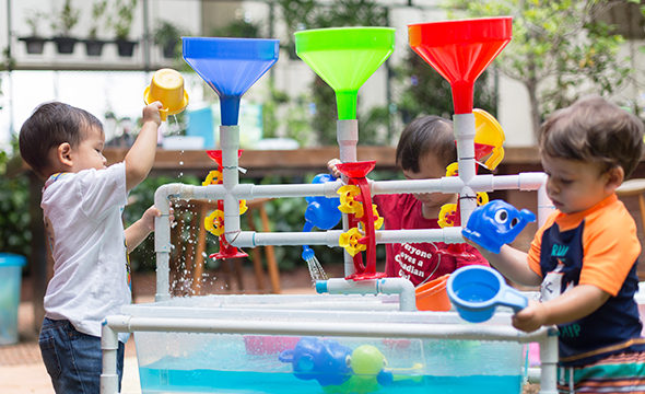 [saladaeng] outdoor messy & water activity playgroup
