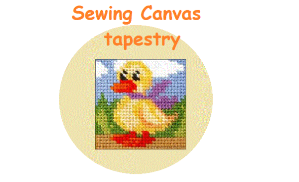 Sewing canvas tapestry  wed 14:10 ce1-cm2