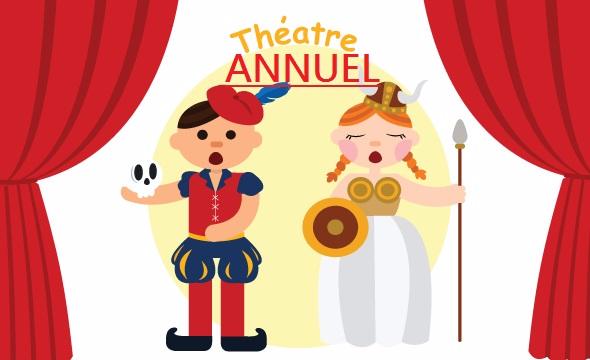 Theatre, tue 15:10, cm1/cm2/6eme