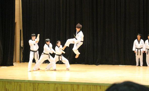 Tuesday taekwondo 6e to 3e (2)