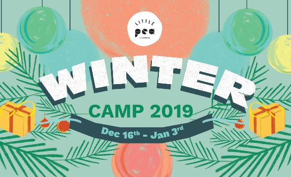 Week 3 winter camp 2019: messy peas