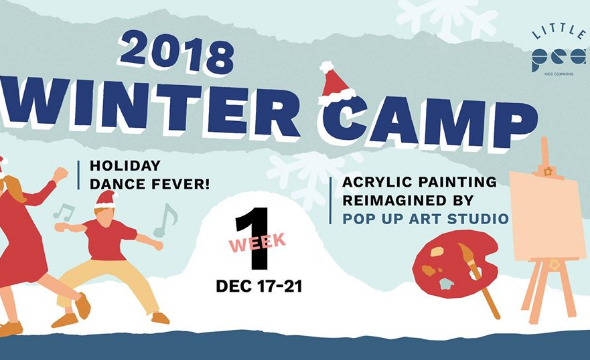 Week1 winter camp - acrylic painting reimagined