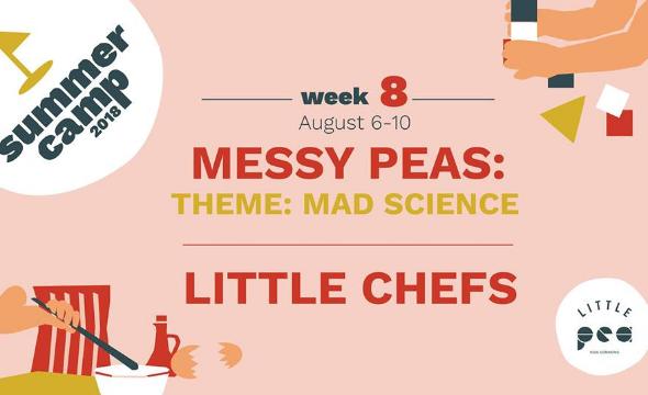 Week8 summer camp (messy peas)