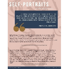 Self-portrait art activity