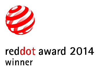 Winner of the 2014 Red Dot Award