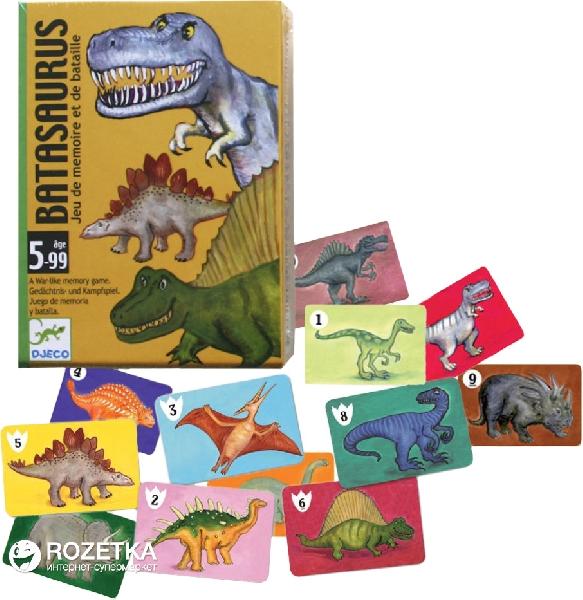 Jeux cartes-bata saurus