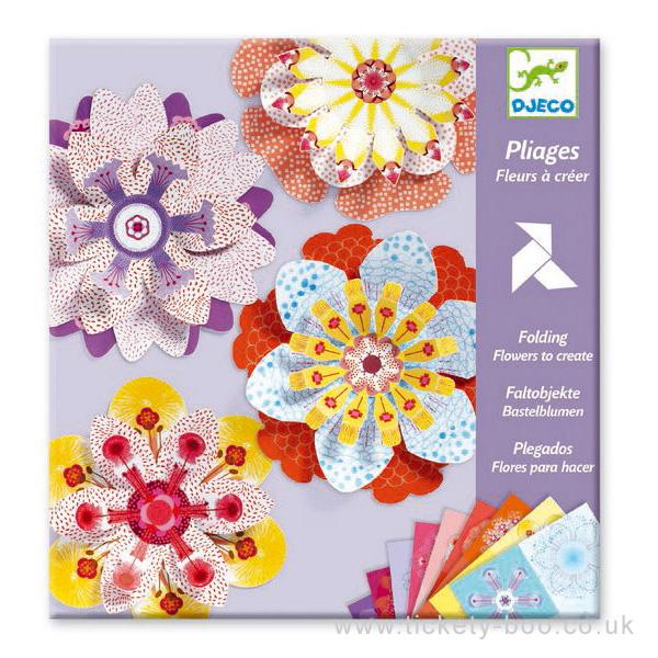 Origami fleur a creer