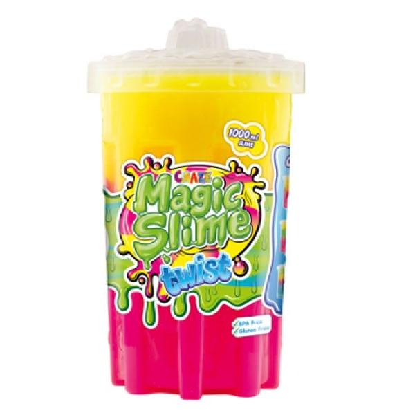 Craze magic slime  pink- yellow 800ml