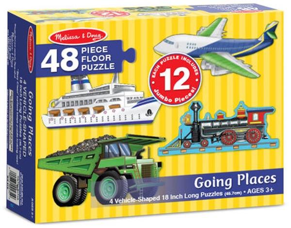 Going places floor puzzle (48 pc)
