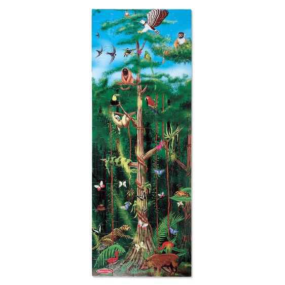 Floor puzzle rain forest