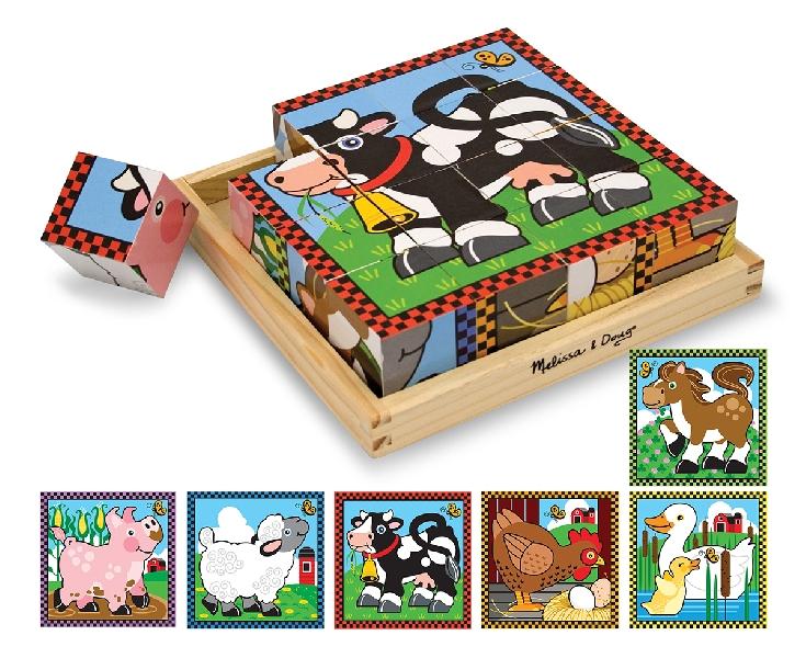 Cube puzzle farm