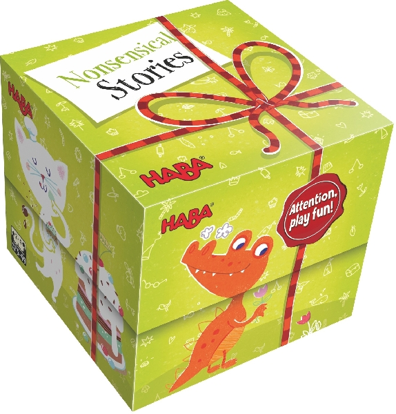 Gift cube - nonsensical stories
