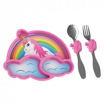 Unicorn dinnerware set
