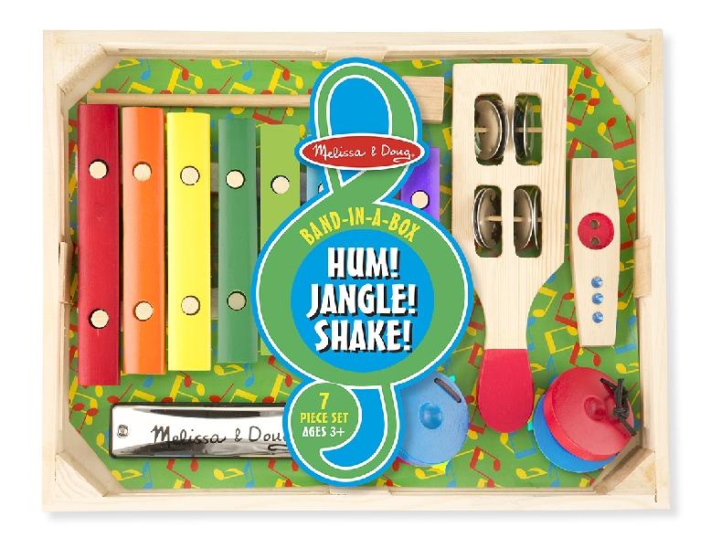 Band box music hum! shake!