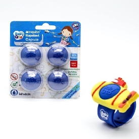 Mosquito repellent capsule blue