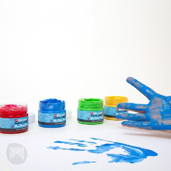 Easy wash finger paint pack 4 early start
