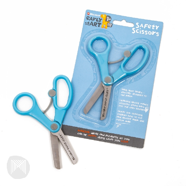 Safety scissors early start