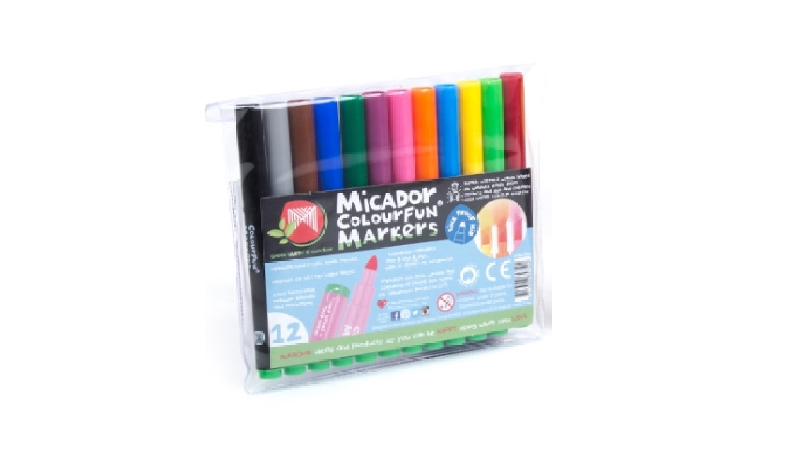 Colourfun markers wallet 12 micador
