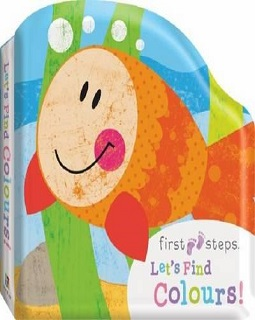 First steps bath board book : let's find colours