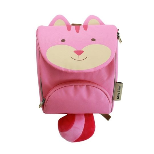 Lola backpack with safety strap milo&gabby