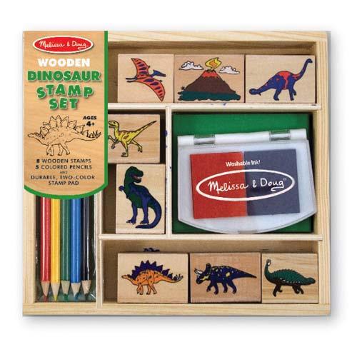 stamp set dinosaurs