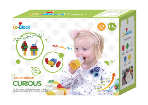 Co-block curious (20pcs)