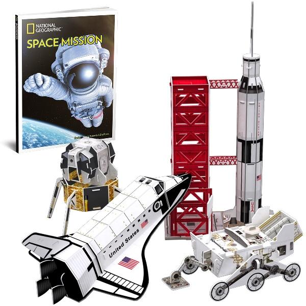 3d puzzle - space mission
