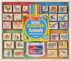 deluxe stamp set animals