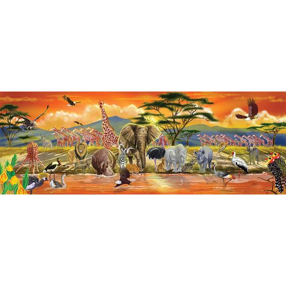 Safari floor puzzle 100pc