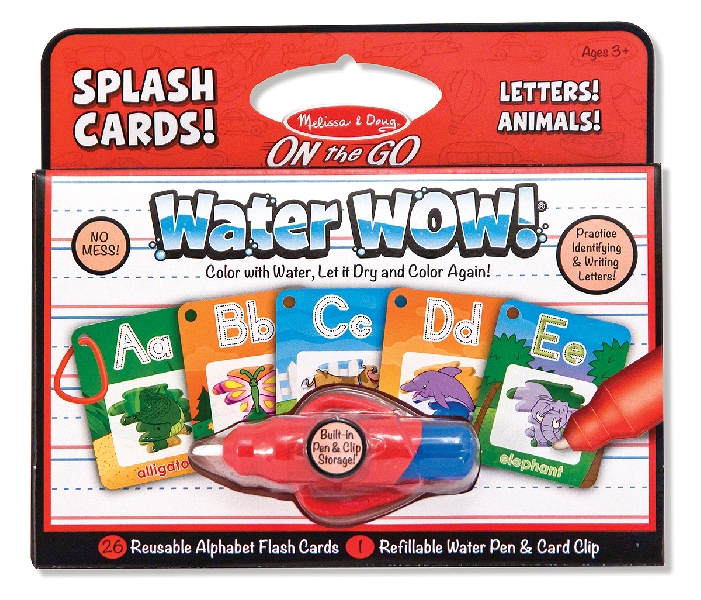 Water wow! alphabet cards
