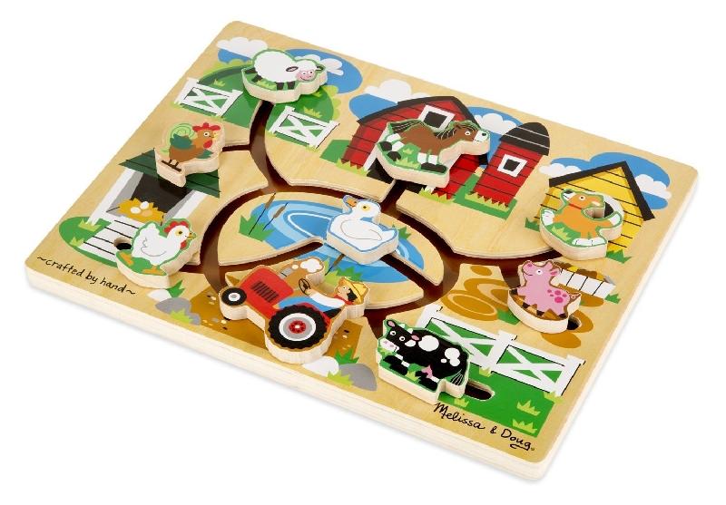 Maze puzzle - farm
