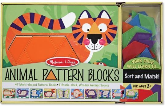 Animal pattern blocks