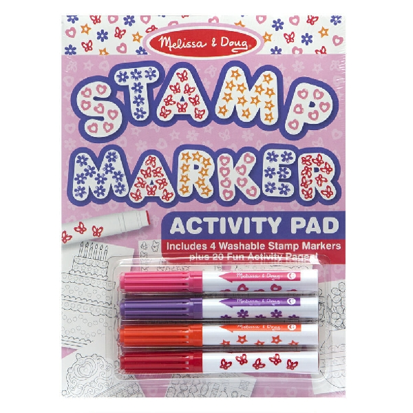 Stamp marker activity set - pink