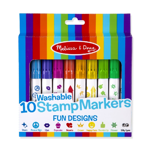 Washable stamp markets 10pc
